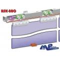 HSK-80C Eş Zamanlı Halatlı Sürgülü Cam Kapı Sistemi